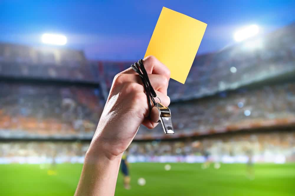 What Does A Yellow Card Mean in Soccer